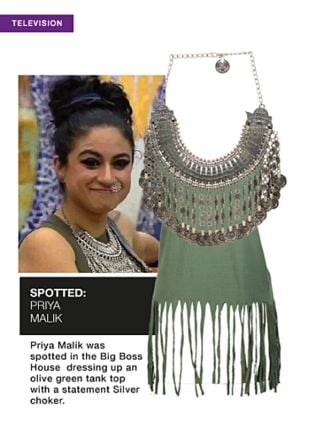 Green Tops with Silver Necklaces. Online shopping look by sheena