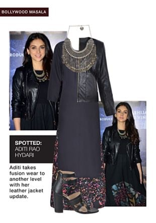 Black Jackets, Silver Necklaces, Black Sandals, Black Skirts with Black Kurtas. Online shopping look by gurkiran