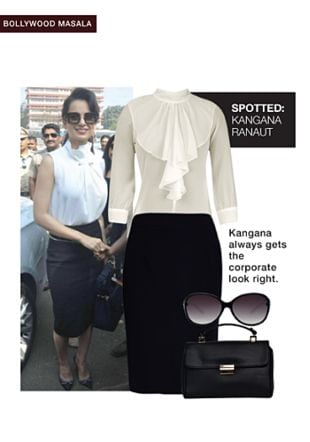 Black Handbags, Black Sunglasses, Black Skirts with White Tops. Online shopping look by pavani