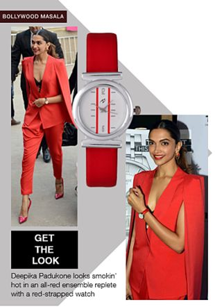 Red Watches. Online shopping look by gurkiran