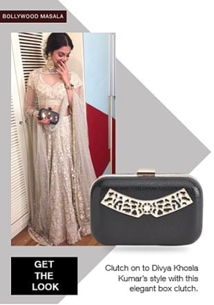Black Clutches. Online shopping look by gurkiran