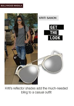 Grey Sunglasses. Online shopping look by Aash