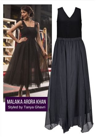 Black Skirts with Black Tops. Online shopping look by LimeRoad