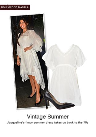 White Kaftans with Black Pumps. Online shopping look by monica