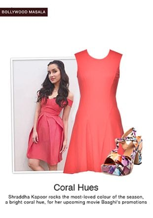 Red Dresses with Multi Sandals. Online shopping look by pavani