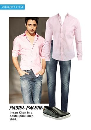 Pink Casual Shirts, Others Jeans with Black Loafers. Online shopping look by khushboo