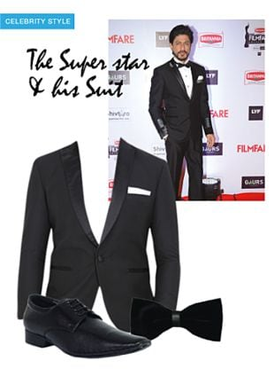 Black Jackets, Black Formal Shoes with Black Bow And Ties. Online shopping look by smriti
