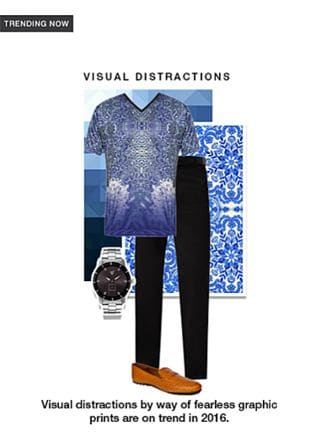 Black Casual Trousers, Silver Analog Watches, Brown Loafers with Blue T Shirts. Online shopping look by smriti