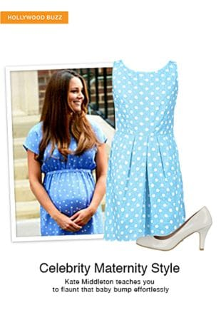 Blue Dresses with White Pumps. Online shopping look by gurkiran