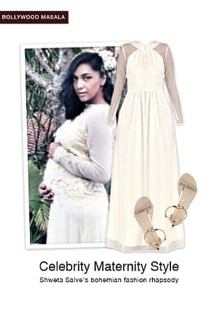 White Dresses with White Sandals. Online shopping look by gurkiran
