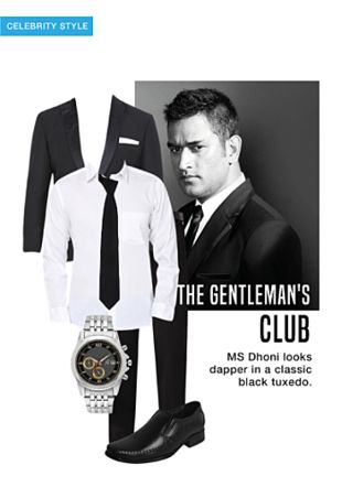 Black Casual Trousers, Black Ties, Black Formal Shoes, Silver Analog Watches, White Casual Shirts with Black Jackets. Online shopping look by monica