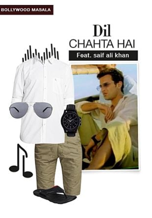 White Casual Shirts, Black Flip Flops, Green Shorts, Silver Sunglasses with Black Chronograph Watches. Online shopping look by smriti