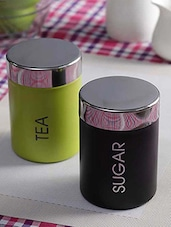 Tea and Sugar Canister -  online shopping for Travel Mugs