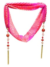 Pinky Oye Jewelled Scarf - By