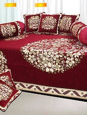 Enjoy a luxurious and five-star hotel-like ambience in the comfort of your home with this diwan set from The Intellect Bazaar be -  online shopping for diwan sets