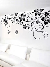 Giant Floral Vine & Butterflies Wall Sticker -  online shopping for Wall Decals & Stickers