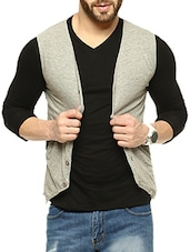 grey waist coat -  online shopping for Waist coat