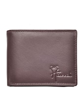 brown genuine leather wallet -  online shopping for Wallets