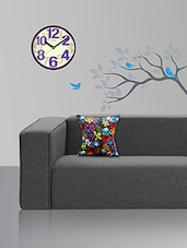 Style Homez  Cotton Canvas Floral Printed Cushion  Cover  -  online shopping for Cushion Covers