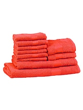 Trident Cotton Towel set of 10 -  online shopping for towels