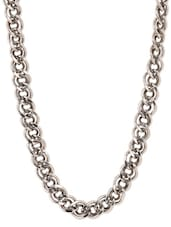 Interlinked Stainless Steel Chain Necklace - By