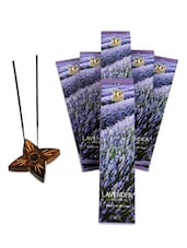 Pack Of 6 Lavender Fields Incense Sticks -  online shopping for Incense & Holders