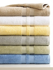 unnati set of 2 Bath Towels,6 hand towels & 12 face  towels -  online shopping for towels