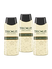 Trichup Healthy Long & Strong Herbal Hair Shampoo ( 200 Ml) (Pack Of 3) - By