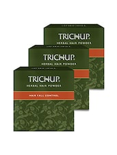 Trichup Hair Fall Control Herbal Hair Powder (4 X 30g) (Pack Of 3) - By