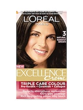 L'Oreal Paris Darkest Brown Hair Color, 72ml+100g - By