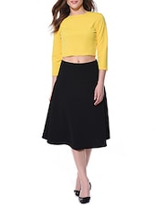 yellow,black polyester set -  online shopping for Sets