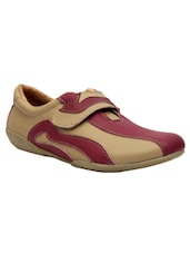 beigepink leatherette casual shoes -  online shopping for Casual Shoes