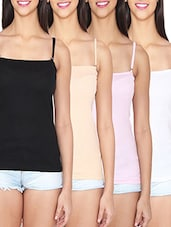 multicolour cotton blend camisole -  online shopping for Camisoles