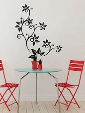 Black&red Self Adhesive Vinyl Wall Decals & Sticker - By