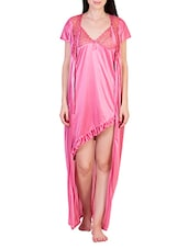 pink satin nightwear -  online shopping for nightwear