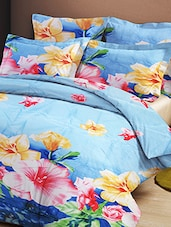 multi colored cotton blend bed sheet set -  online shopping for bed sheet sets