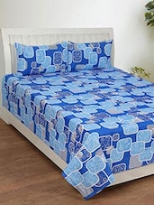 Bsb Trendz Cotton Double Bedsheet With 2 Pillow Covers -  online shopping for bed sheet sets