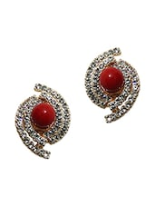 Metal Alloy Stud Earrings(For Non-Pierced Ears) - By