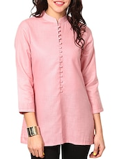 pink cotton kurta -  online shopping for kurtas