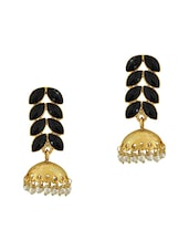 Black Copper Other Earring - By