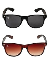 multicoloured UV protected sunglasses (set of 2) -  online shopping for Sunglasses