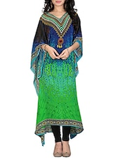 multi georgette kaftan -  online shopping for Kaftans