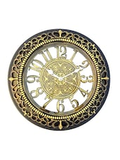 Absa Gold N Black  With 3D Numbers  Wall Clock In 12 Inch - By