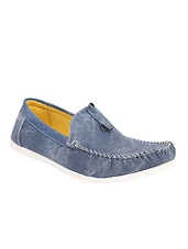 blue rubber slip on loafers -  online shopping for Loafers