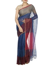 multi cotton saree -  online shopping for Sarees
