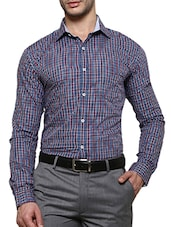 multi colored cotton formal shirt -  online shopping for formal shirts