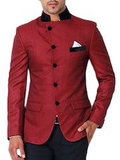 red cotton casual blazer -  online shopping for Casual Blazer