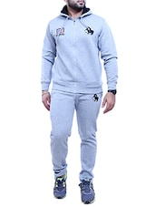 grey cotton full length track suit -  online shopping for Track Suits