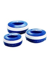 Blue BPA Free Food Grade Plastic Caserrole Set -  online shopping for Casseroles