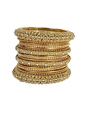 gold metal bangle -  online shopping for bangles